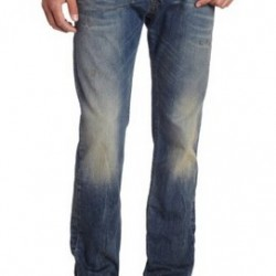 48% OFF! Diesel Men's Darron Regular Slim Tapered Leg Jean offered at $102.18 by Amazon