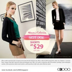 S$10 OFF! G2000 Women's Collection Best Deal