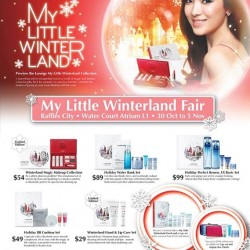 My Little Winterland Fair by LANEIGE at Raffles City