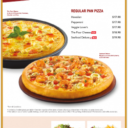 1 For 1 Weekday Promotion @ Pizza Hut