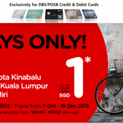 AirAsia 3 Days Sale From $1