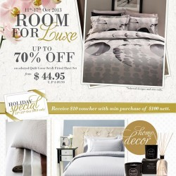 Up to 70% OFF! Room For Luxe Sale by Aussino