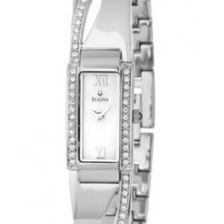 61% OFF! Bulova Women's 96T63 Crystal Bracelet Watch offered at $107.32 by Amazon