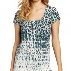 67% OFF! Calvin Klein Jeans Women's Animal Crinkle Tee offered at $13.09 by Amazon