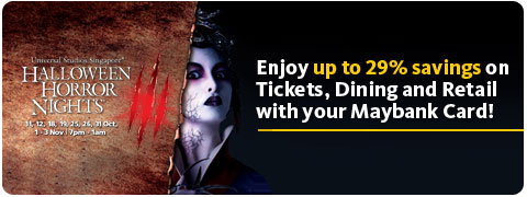 Halloween Horror Night 3 Promotion