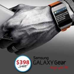 Only at S$398! Samsung GALAXY Gear flash sale at Deal.com.sg