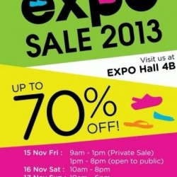 Up to 70% OFF! Crocs Expo Sale 2013