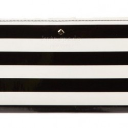 25% OFF with promo code BFSHOE25 at checkout! Kate Spade Harrison Street Stripe Small Stacy Wallet offered at 73.5