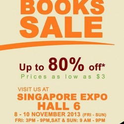Up to 80% off! MPH Books Sale at Singapore Expo