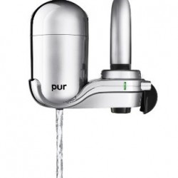 29% OFF! PUR Advanced Faucet Water Filter Chrome offered at US$25.10 by Amazon