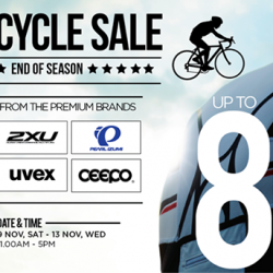 Up to 80% OFF! The Cycle Sale at Key Power International