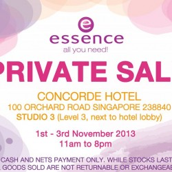 Up To 80% OFF! Essence Cosmetics Warehouse Sale Event