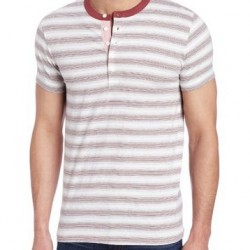 74% OFF! French Connection Men's Jeffrey's Bay Stripe Shirt offered at US$12.72 by Amazon