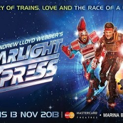 50% OFF! Starlight Express Musical at MasterCard® Theatres, Marina Bay Sands offer at S$32.5