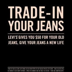 S$50 off! Levi's Trade-In Promotion