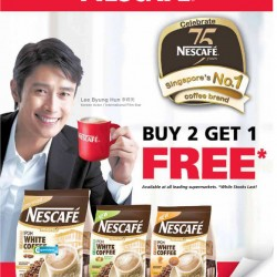 Buy 2 Get 1 Free Promotions From Nescafe at Leading Supermarkets