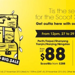 Christmas Sale at Scoot Airline