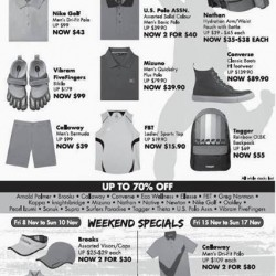 Up to 70% @ Takashimaya Sports Fair