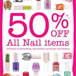 50% OFF All Nail Items at Etude House