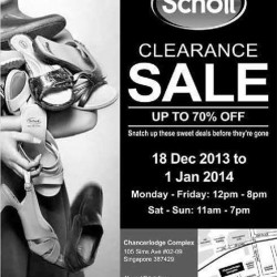 Up To 70% Discounts On Footwear! Scholl Clearance Sale