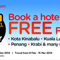 AirAsiaGo Promotion: Book a  Hotel and Get FREE Flights