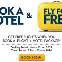 Expedia.com.sg Promotion: Book a  Hotel and Get FREE Flights
