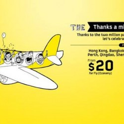 Scoot to Selected Scoot Destinations Promotion