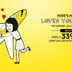 Scoot Valentine's Day Promotion 2014