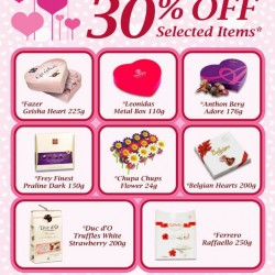 The Cocoa Trees Valentine's Day Promotion 2014