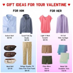 Uniqlo Valentine's Day Promotion