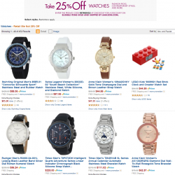 Amazon Promotion on Select Watches For Men & Women