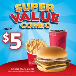 Wendy's Super Value Combo