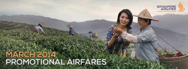 Singapore Airline | Promotion March 2014
