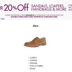 Amazon.com | Scandals, Loafers and Handbags Promotion Code