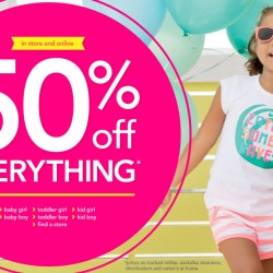 Carter's   50% OFF Everything