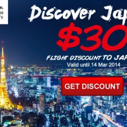 Cheaptickets.sg: S$30 OFF Flights to Japan