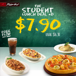 Pizza Hut SG: The Student Lunch Deal