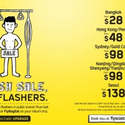 Scoot | Flash Sale 20 - 21 March 2014