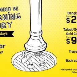 Scoot Singapore | Tuesday Morning Promotion