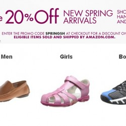Amazon New Spring Arrivals Promotion Code: Shoes, Handbags and More