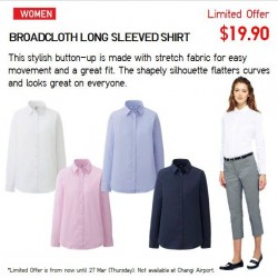 Uniqlo Singapore   Limited Offer March 2014