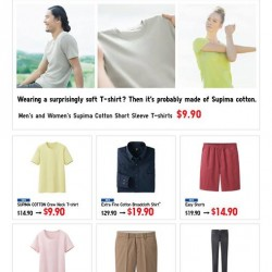 Uniqlo Singapore   Weekly Promotion March/April 2014