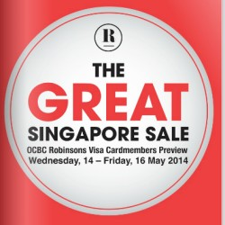 Robinsons Singapore | Great Singapore Sale Card Member Preview