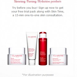 Clarins | Sample Give Away