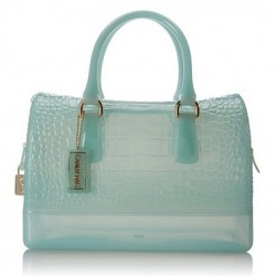 Amazon | Furla Candy M Satchel Top Handle Bag, Rugiada