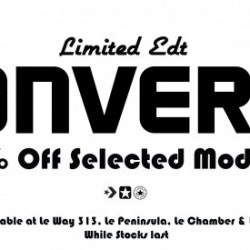 Limited Edt Stores | Converse Shoes Promotion May 2014