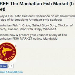 Singtel Rewards | FREE The Manhattan Fish Market (Lite) Set!