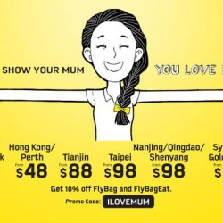 Scoot | Mother's Day Promotion