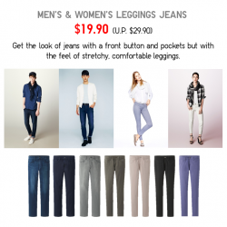 UNIQLO Singapore | Leggings Jeans Promotion