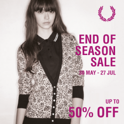 Fred Perry | End of season sale up to 50% off